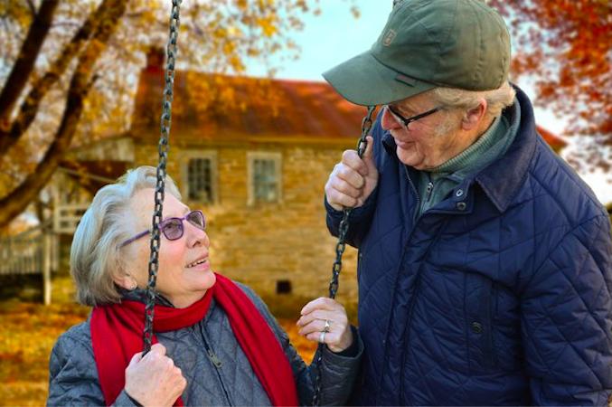 Ældre par i Randers