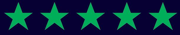 5 stjernet anmeldelse